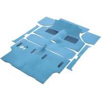 Carpete para o Chão do Carro Pre 73 - Azul