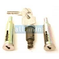 Kit de 3 canhões c/ chave de fechadura de porta e mala Mk3