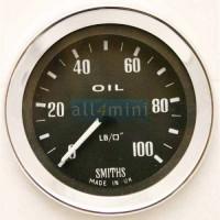 Manómetro Smiths Escala Inteira 100 lbs Preto