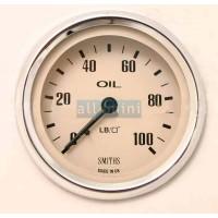 Manómetro Smiths Escala Inteira 100 lbs Magnólia