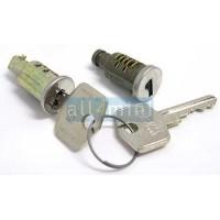 Kit de 2 canhões c/ chave de fechadura de porta e mala Mk1/2