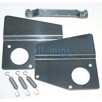 Kit Chapas para Rampa de Carburadores HS4 - Inox