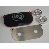 """Filtro """"ITG"""" para 2 carburadoes HS4"""