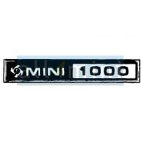 Chapa de Colar para Emblema MINI1000 British Leyland