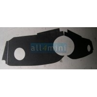 Forra Tabelier Velocimetro Central MK3 - Preto