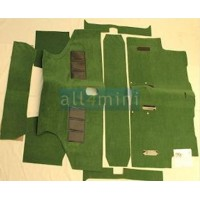 Carpete para o Chão do Carro Pre 73- verde