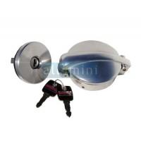 Tampão Gasolina MONZA Aluminio Polido - Com Chave