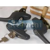 Kit de Puxadores Porta e Mala Mk3 - Cinzento
