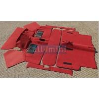 Carpete para o Chão do Carro Pos 73 - Vermelho
