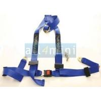 Cinto Segurança 3 Pontos  - Azul