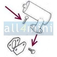 Parafuso Bomba Gasolina Mecanica/Respiro Motor Lado  Distribuicao