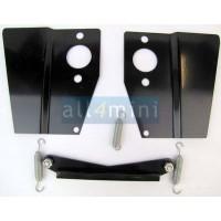 Kit Chapas para Rampa de Carburadores HS2  - Preto
