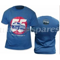 Tshirt Azul 55 Anos Minispares
