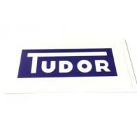 """Emblema """"TUDOR"""" para Vaso do Esguicho"""